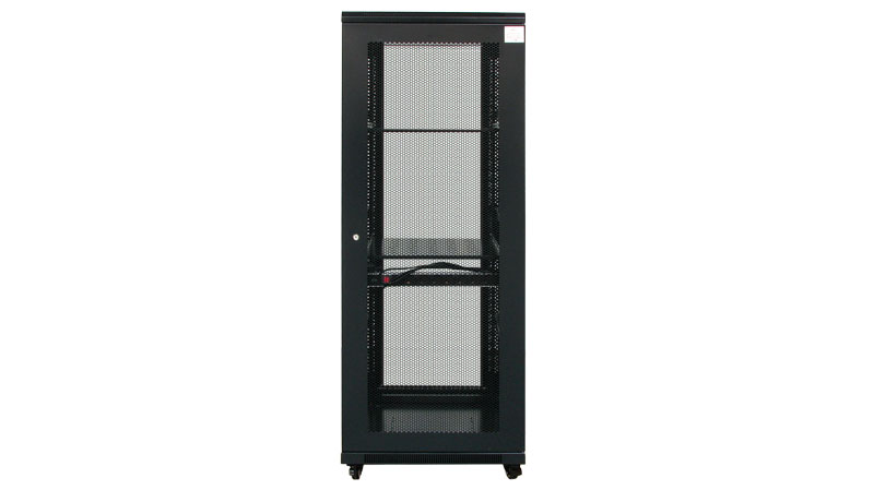 Armario rack de 19 32u con puerta de cristal 600x900mm - Armario con puertas de cristal ...